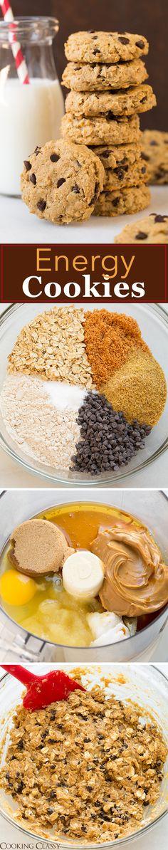 Energy Cookies recipe via @cookingclassy