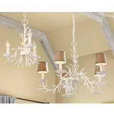 Coral Chandeliers. Gorgeous over kitchen table or seating area in master bedroom. See blue and green coral area rug.  Recommend use together.