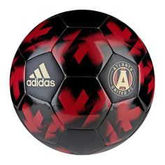 Atlanta United FC adidas Authentic Soccer Ball - Red/Black - $19.99