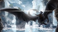 Night Fury Origins Revealed in How To Train Your Dragon 3!