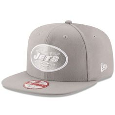 New York Jets New Era Team Refresher Snapback Adjustable Hat - Gray. NFL  Caps   Hats 5c708d1c8