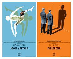 Theatre Project Posters – Spur Stor / Aqua-Velvet