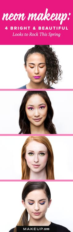 What better way to spring into spring ( … see what we did there?), than by giving your dark liner and shadow shades a break? We think it's time you join us and hop on board the neon train by starting with these four looks. This tutorial is a must try!