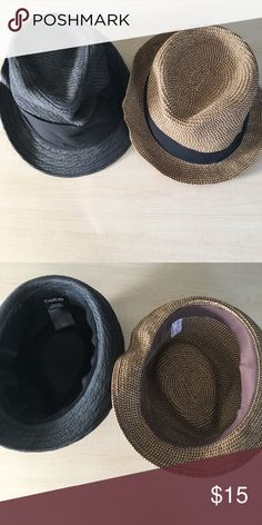 2 Lot Bebe & Brass Plum Hats Brass Plum Nordstrom and Bebe Hat  Both preowned  -C- bebe Accessories Hats