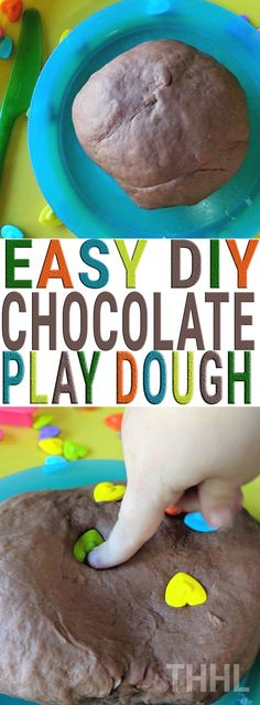 Learn how to create homemade easy DIY chocolate play dough today. So easy to make only five ingredients and the best part you don't have to cook anything! The ingredients you already have in your home. Chocolate Play Dough Recipe, Chocolate Pastry, Hot Chocolate, Cooked Playdough, Clotted Cream, Holiday Crafts For Kids, Five Ingredients, Business For Kids, Clean Eating Snacks