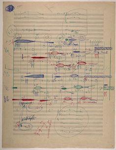 Experimental music notation resources - Krzysztof Penderecki