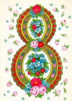 Советские открытки, поздравление с 8 марта.