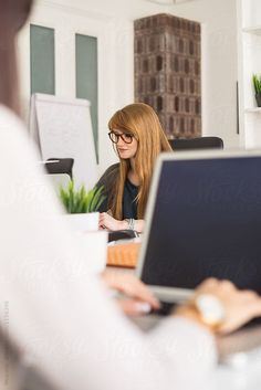 Young Women Working in the Office by Mosuno for Stocksy United