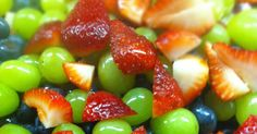 Fruit Salad with Honey-Lime Dressing - Easy-Fruit salad is very easy to make ... especially if you have someone else make it. But to really make it easy, especially...