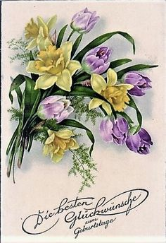 Colorful Flower Tattoo, Colorful Flowers, Flower Art, Decoupage, Photo Onto Wood, 8th Of March, Vintage Ephemera, Botanical Illustration, Beautiful Roses