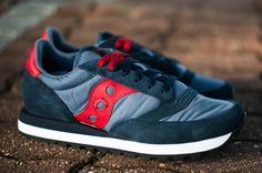 Saucony Jazz Original | Navy & Red - EU Kicks: Sneaker Magazine