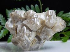 Smoky Quartz Crystal Scepter Cluster Floater, RARE Mt Mica Maine Mineral USA GEM