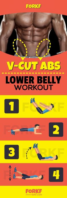 Lower Belly Workout To Define V Line Abs