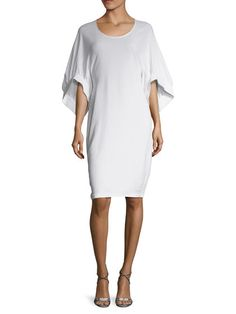 Dolman Wide Cuff Sheath Dress by Givenchy at Gilt