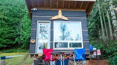 The tiny living community is populated with enthusiasts who think outside the box in a bid to turn what's essentially a shed into a viable home, at minimal cost. With this in mind, Scott Brooks lives in a tiny home dubbed Transforming Tiny Home that was built for under US$500.