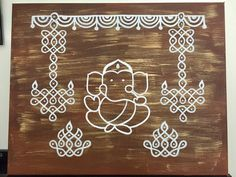 Simple Rangoli Designs Images, Rangoli Designs Latest, Small Rangoli Design, Rangoli Designs With Dots, Beautiful Rangoli Designs, Kolam Designs, Rangoli Designs Diwali, Mandala Design, Mandala Art