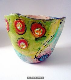 linda styles online sales of ceramic pots, bowls, jugs, beakers Ceramic Pots, Ceramic Clay, Ceramic Pottery, Pottery Art, Paper Clay, Clay Art, Keramik Design, Hand Built Pottery, Pottery Bowls