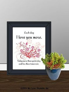 Printable Love Signs