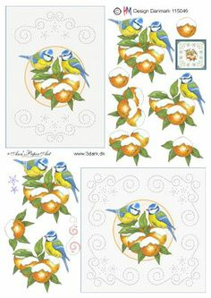 cartes brodees - Page 20