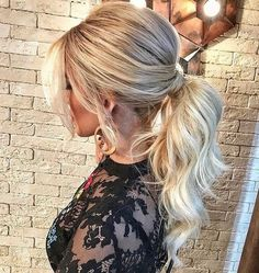 Irresistible high pony long prom hairstyles 2019 to look perfect - prom . - Irresistible high pony long prom hairstyles 2019 to look perfect – prom hairstyles - Summer Wedding Hairstyles, Homecoming Hairstyles, Trendy Hairstyles, Amazing Hairstyles, Hair Wedding, Curly Ponytail Hairstyles, High Curly Ponytail, Low Pony Hairstyles, Formal Ponytail