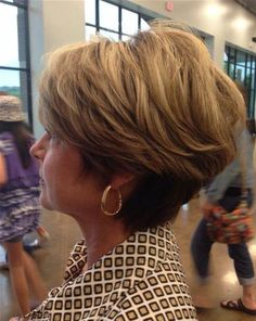 Image result for Short Haircuts for Women Over 50 Back View