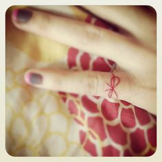 """""""An invisible red string connects all those destined to meet regardless of time, place, or circumstance. The string may stretch or tangle, but never break."""" - Ancient Chinese Proverb"""