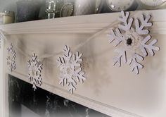 Hey, I found this really awesome Etsy listing at https://www.etsy.com/listing/207852755/winter-white-christmas-snowflake-banner
