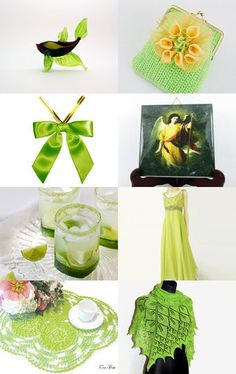 Green finds by decoratore on Etsy--Pinned+with+TreasuryPin.com