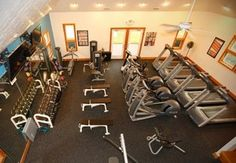 Currituck Club gym offered to all resort guests