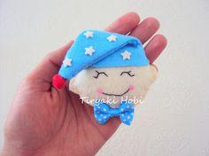 ! ✿ Tiryaki Hobi ✿ !: Keçe bebek şekeri / magnet - Uykucu bebek