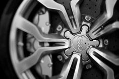 Audi wheel design.
