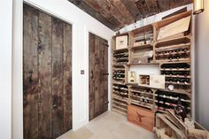 Love this wine cellar! For Sale Temperley Road SW12 James Pendleton