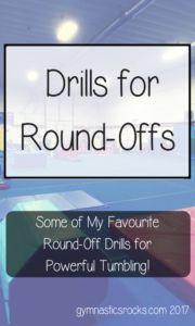 Gymnastics Tumbling: My Favourite Round-Off Drills Part 1