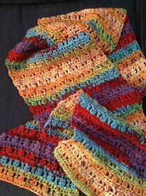 The Shtick I Do: Cluster Stitch Scarf with Pattern