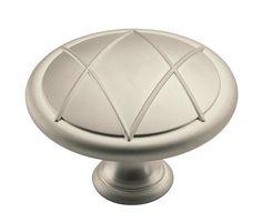 Amerock BP55420-2 Lattice 1-3/4 Inch Diameter Mushroom Cabinet Knob