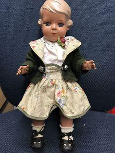 Schildkröt Puppe Inge 34 mit Kleidung in Antiquitäten & Kunst, Antikspielzeug, Puppen & Zubehör | eBay!