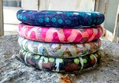 everything.an.experiment #2015PCChallenge : Week 33 Batik Print on polymer clay By Shilpa Shajan (Emajic Handmade)