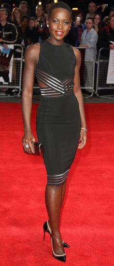 While promoting 12 Years A Slave at the London Film Festival, Lupita slipped into some structural Christopher Kane. Impressive.10 GOLDEN GLOBES DRESSES WE NEED TO DISCUSSIS MALAIKA FIRTH 2014'S CARA DELEVINGNE?MORE FASHION NEWS