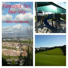 Ridgecrest Park in Aliso Viejo has shade and views.