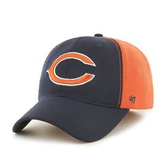 d28da159bd1 Chicago Bears Draft Day Closer Navy 47 Brand Stretch Fit Hat - Great Prices  And Fast Shipping at Detroit Game Gear