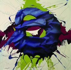 Fernand d'Onofrio  La veuve heureuse 2011 / 130 x 130 cm