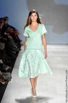 Pink Tartan Spring Summer 2013 Toronto Fashion Week