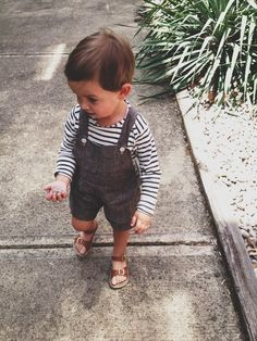 Looking for some linen or light cotton neutral overalls for the boy