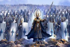 """Warhammer High Elves"", Espen Olsen Sætervik on ArtStation at…"
