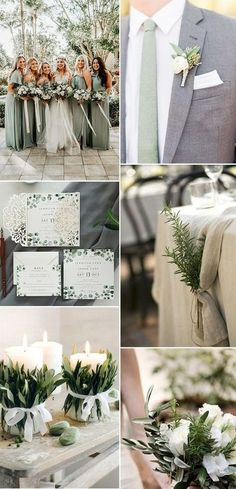 top wedding colors for 2019 sage green wedding colors Top Wedding Colors for 2019 December Wedding Colors, Beach Wedding Colors, Winter Wedding Colors, November Wedding, Wedding Colors Green, August Colors, Unique Wedding Colors, Wedding Beach, Green Colors