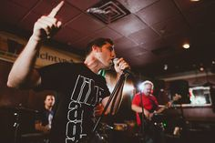 LIVE at #McIntyres in #TomsRiver with the #StickballSocialClub. Photo by Stan Stolowski #ChrisRockwell #HipHop