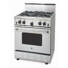 RNB304BV1L in Stainless Steel by BlueStar in Englewood, CO - 30' RNB SERIES RANGE