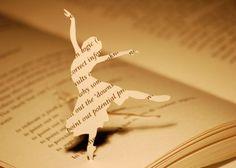 #dancing #paper #art #ballerina