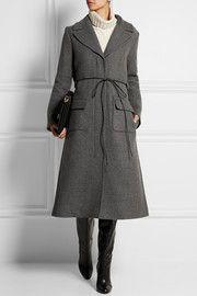 Nina Ricci - wool-twill blend coat