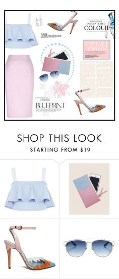 """""""Soft pink and Baby blue"""" by youaresofashion ❤ liked on Polyvore featuring Gucci, New Look, Matter Matters, Chanel, Christian Dior and pinkandblue"""